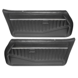 1978-1980 Malibu Rear Door Panels 70 Black