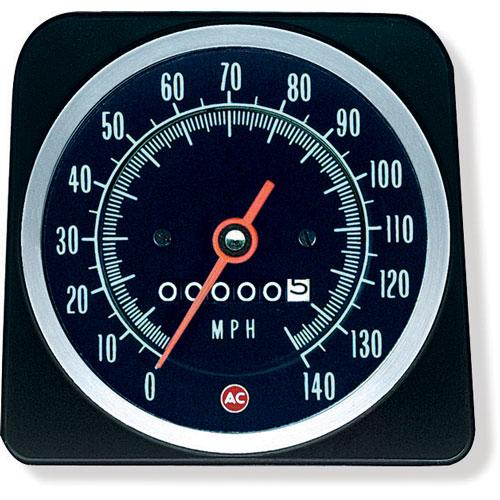 1969 Camaro Speedometer 140 Mph