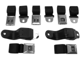 1968-1969 Camaro Deluxe Seat Belt Kit, GM Restoration