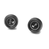 1971-1972 El Camino Outer Radio Knobs
