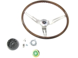 1969 Camaro Rosewood Steering Wheel Kit Without Tilt