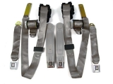 1974-1981 Camaro Seat Belt Kit, Front & Rear, Silver