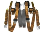1974-1981 Camaro Seat Belt Kit, Front & Rear, Tan