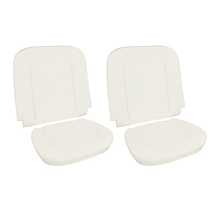 1964-1965 Chevelle Bucket Seat Foam Kit w/ Listing Wire: 43-8224