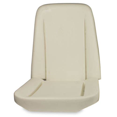 1966-1970 Chevelle Bucket Seat Foam with Listing Wire: 43-8226