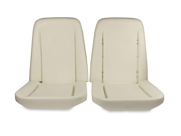1966-1971 Nova (ex. 1967 SS) Bucket Seat Foam Kit