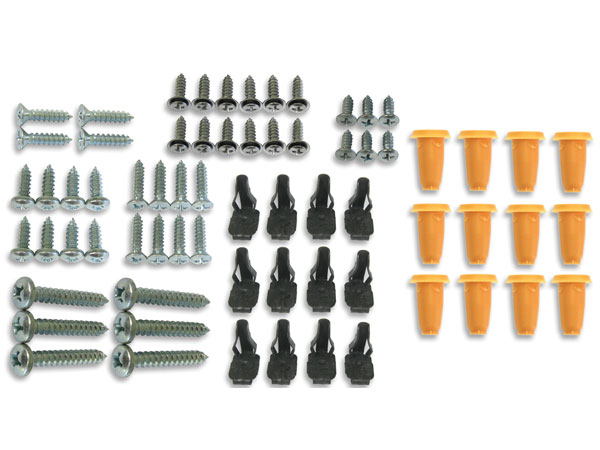 1967 Camaro Coupe Interior Screw Kit