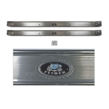 1968-1972 Chevrolet Sill Plate Kit with Rivets