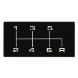 1968-1972 Chevrolet 6 Speed Shift Pattern For Richmond