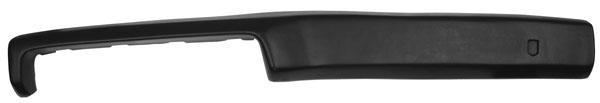 1968 Nova Dash Pad Black