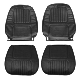 1970 Camaro Standard Bucket Seat Covers, Black M10