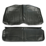 1967-1968 Camaro Coupe Standard Rear Seat Covers, Black