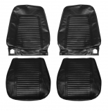 1969 Camaro Standard Bucket Seat Covers, Black