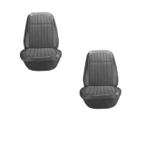 1969 Camaro Deluxe Comfortweave Bucket Seat Covers, Black