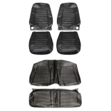 1969 Camaro Coupe Standard Bucket Seat Cover Kit, Black