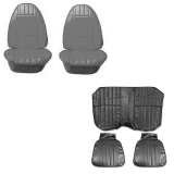 1974-1976 Camaro Standard Seat Cover Kit Black