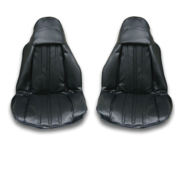 PUI 1970 Chevelle White Front Buckets Seat Covers