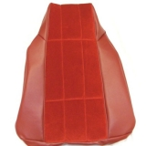 1976 Camaro LT Custom Cloth Bucket Seat Covers, Red M30