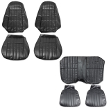 1977 Camaro Standard Seat Cover Kit Black