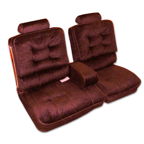 1981 1987 Buick Regal Limited 2dr Bench Seat Covers W Arm