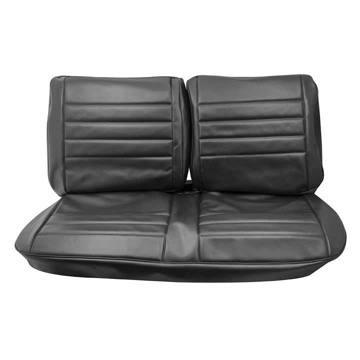 1965 Chevelle Front Bench Seat Covers, Black