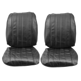 1966 Chevelle Bucket Seat Covers, Black