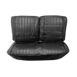 1968 Chevelle Front Bench Seat Covers, Black