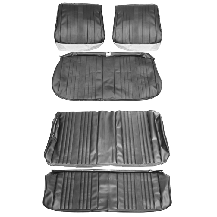 1969 Chevelle Coupe Bench Seat Cover Kit Black