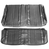 1969 Chevrolet Coupe Rear Seat Covers, Parchment