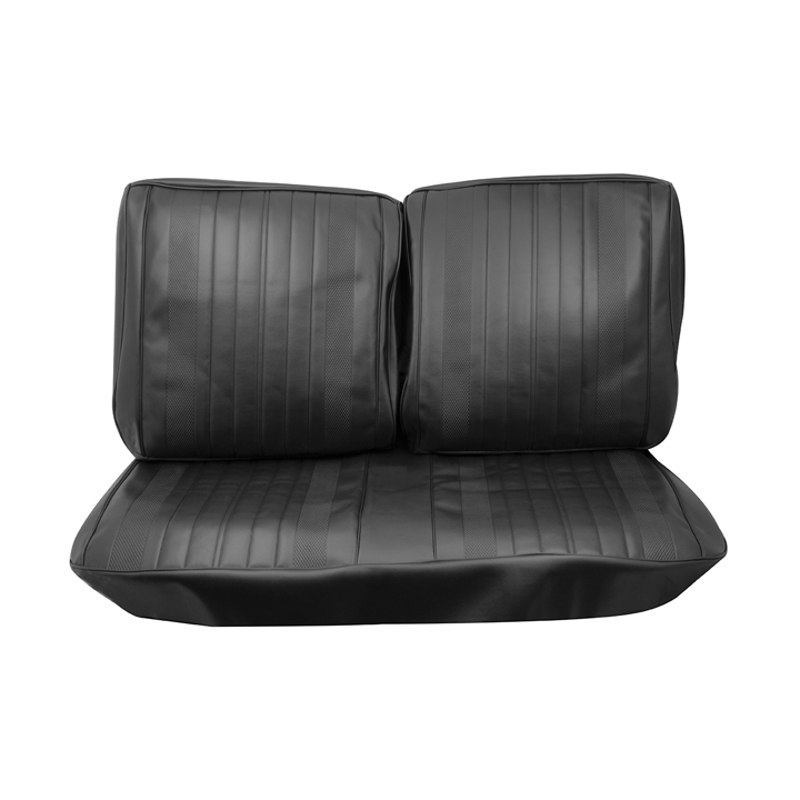 1970 Chevelle Front Bench Seat Covers, Black