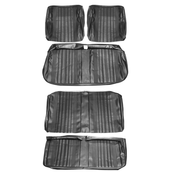 1970 Chevelle Coupe Bench Seat Cover Kit Black