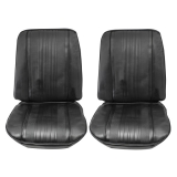 1970 Chevelle Bucket Seat Covers, Black