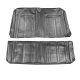 1966 Nova SS Seat Covers Rear Sedan Black