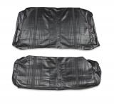 1969-1971 Nova Rear Seat Covers, Black