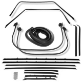 1962-1964 Nova Sedan Deluxe Weatherstrip Kit Standard Felts