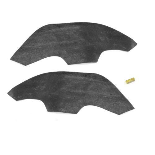 1968-1972 Chevelle A Arm Dust Shields For Steel Inner Fenders