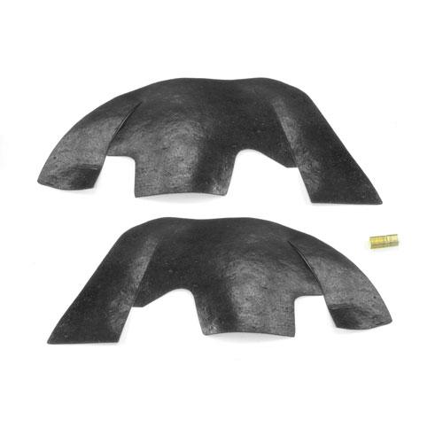 1968-1972 Chevelle A Arm Dust Shields For Plastic Inner Fenders