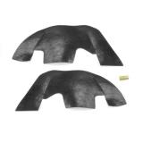 1968-1972 Chevrolet A Arm Dust Shields For Plastic Inner Fenders