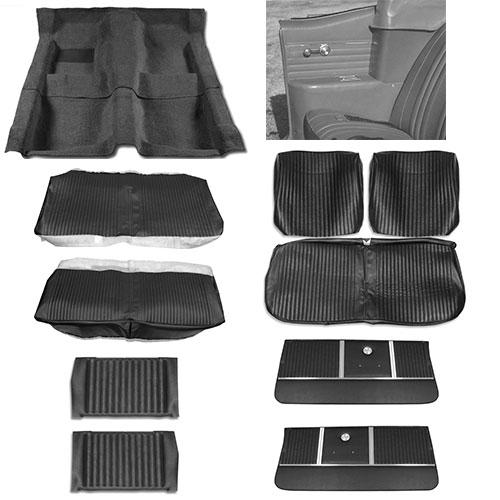 1964 Chevelle Convertible Junior Interior Kit For Bench