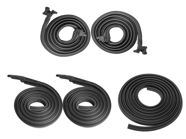 1969-1972 Chevelle Coupe Junior Weatherstrip Kit