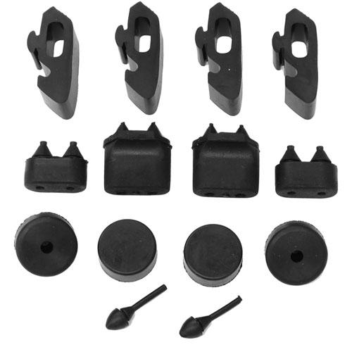 1968-1974 Nova Rubber Stopper Kit