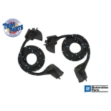 1982-1992 Camaro Door Weatherstrip Trim Parts Ultra Soft