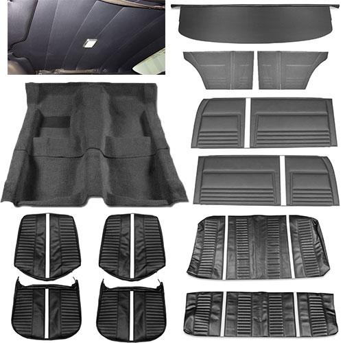 1967 Chevy Ii Nova Interior Kit Super Sport Ss Bucket