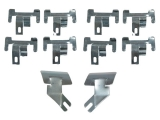 1967-1969 Chevrolet Windshield Molding Clips Lower