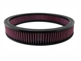 1967-1992 Camaro K&N 14x2 5/16 Round Washable Air Filter: E-3740