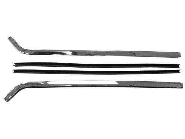 1967-1969 Camaro Quarter Glass Chrome Molding