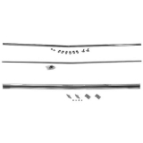 1967 Chevrolet Rear Panel Molding Kit Complete