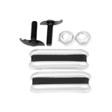 1968-1969 Chevrolet Tail Gate Extension Moldings