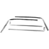 1966-1967 Chevrolet Rear Window Molding Kit