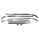 1962-1965 Chevrolet Coupe Rear Windshield Molding Kit Reproduction